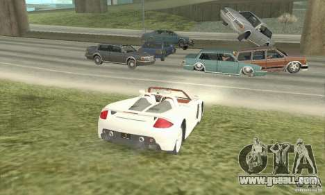 Porsche Carrera GT 2003 for GTA San Andreas left view