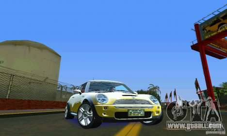Mini Cooper S for GTA Vice City right view