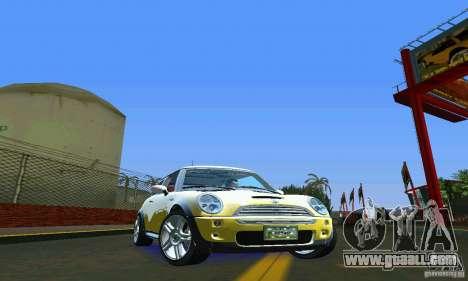 Mini Cooper S for GTA Vice City right view