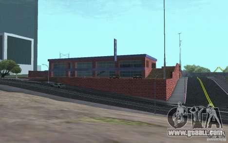 New car dealer Wang Cars for GTA San Andreas sixth screenshot