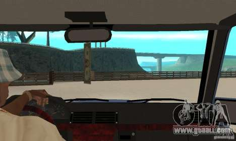 Mercedes-Benz G500 1999 Short [with kangoo v3] for GTA San Andreas right view