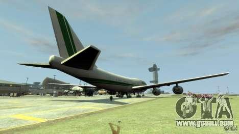 Alitalia for GTA 4 back left view