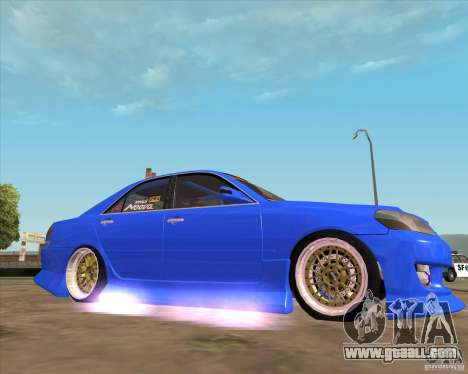 Toyota JZX110 make 2 for GTA San Andreas right view