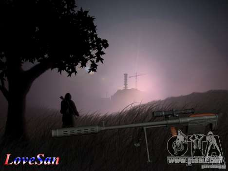 The KSVK (IOS-98) for GTA San Andreas