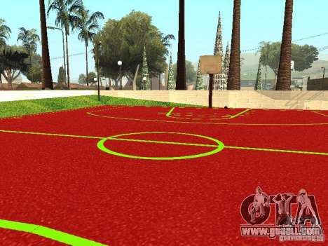 Basketball Court for GTA San Andreas third screenshot