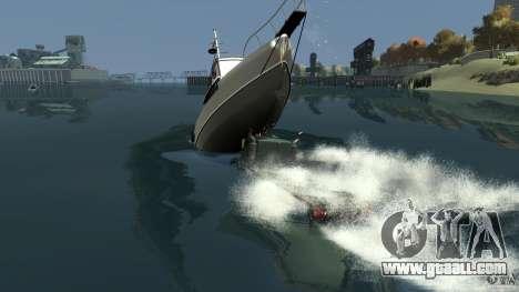 Biff boat for GTA 4 interior