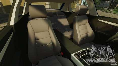 Audi A4 2010 for GTA 4 inner view
