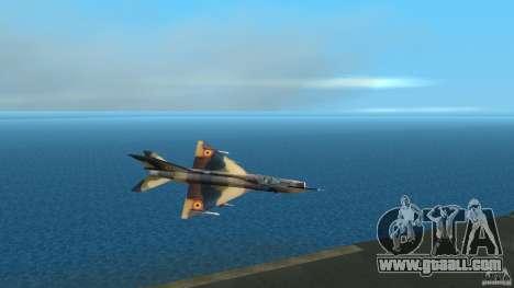 MiG 21 LanceR A for GTA Vice City