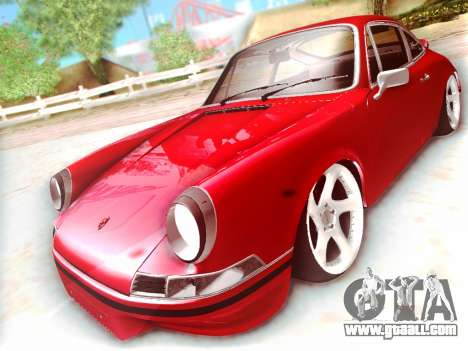 Porsche Carrera RS 1973 for GTA San Andreas left view