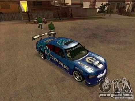 Mopar Dodge Charger for GTA San Andreas left view