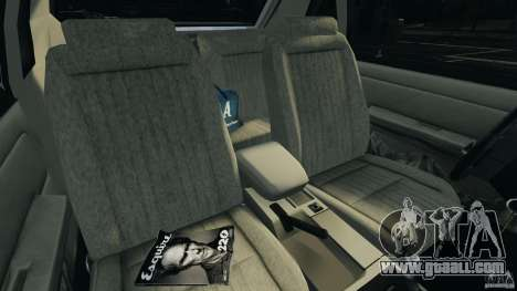 Ford Mustang GT 1993 v1.1 for GTA 4 inner view