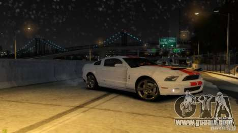 Ford Shelby Mustang GT500 2011 v2.0 for GTA 4 wheels