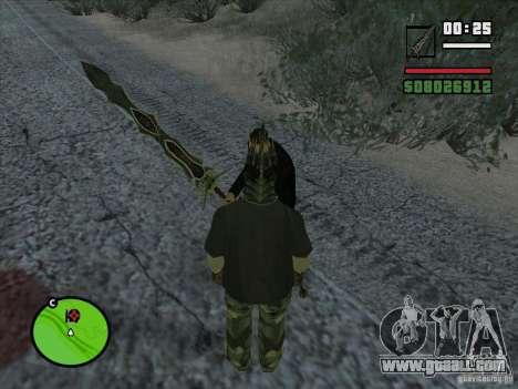 Claw Beliara for GTA San Andreas second screenshot