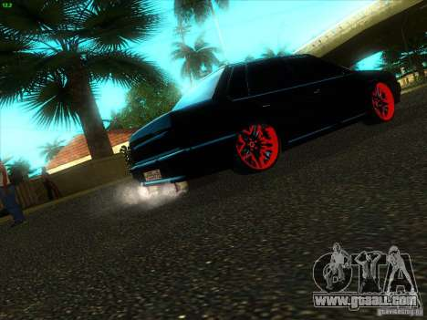 VAZ 2115 Devil Tuning for GTA San Andreas back left view