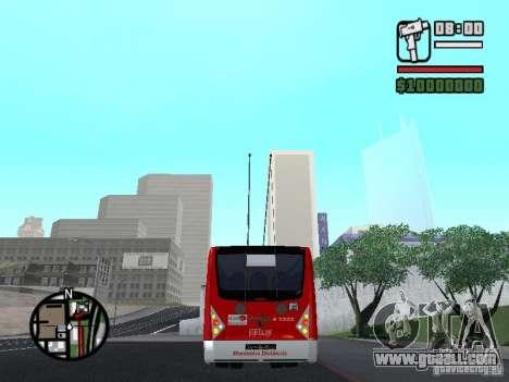 Caio Millennium TroleBus for GTA San Andreas back left view