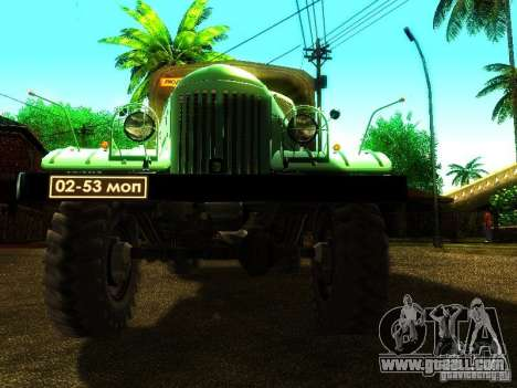 ZIL 157 Truman for GTA San Andreas side view