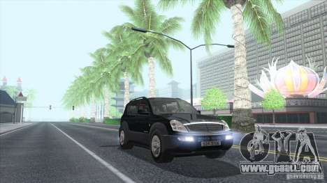 SsangYong Rexton 2005 for GTA San Andreas side view