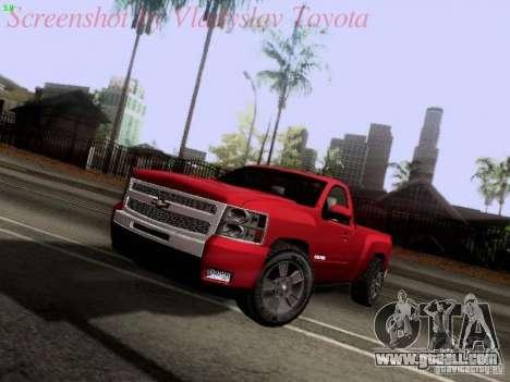 Chevrolet Cheyenne Single Cab for GTA San Andreas