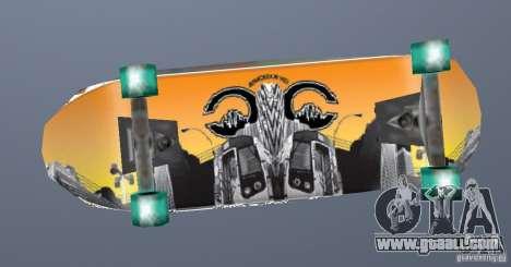 Skateboard Skin 1 for GTA San Andreas second screenshot