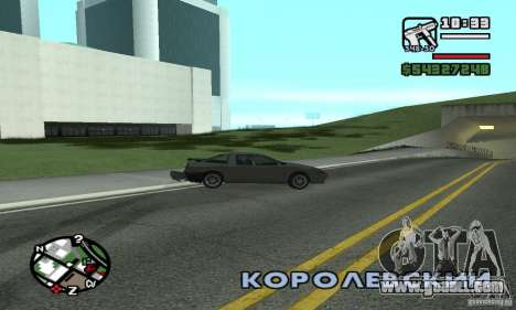 Drift-Drift for GTA San Andreas second screenshot