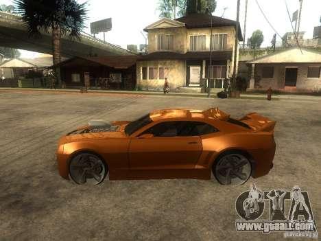 Chevrolet Camaro SS Dark Custom Tuning for GTA San Andreas left view