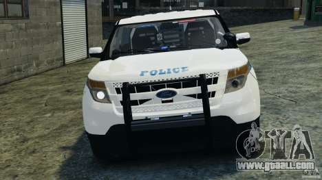 Ford Explorer NYPD ESU 2013 [ELS] for GTA 4 side view