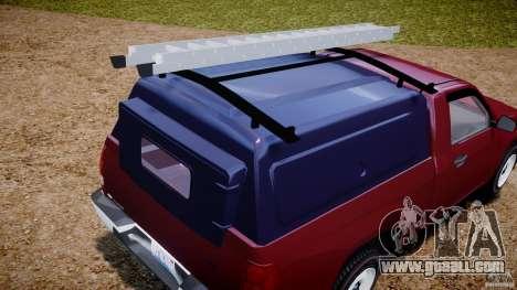 Chevrolet Colorado 2005 for GTA 4 upper view
