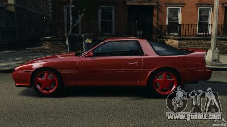 Toyota Supra 3.0 Turbo MK3 1992 v1.0 [EPM] for GTA 4 left view