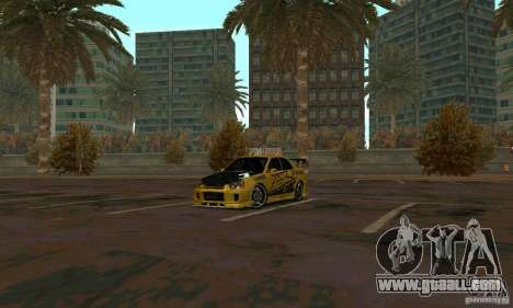 NFS Most Wanted - Paradise for GTA San Andreas