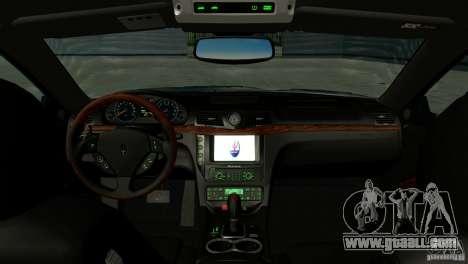 Maserati Gran Turismo 2008 for GTA San Andreas right view