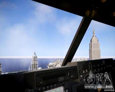 Osprey MV-22 for GTA 4 inner view