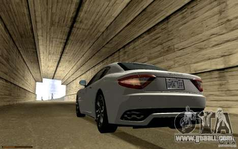 Maserati Gran Turismo 2008 for GTA San Andreas engine