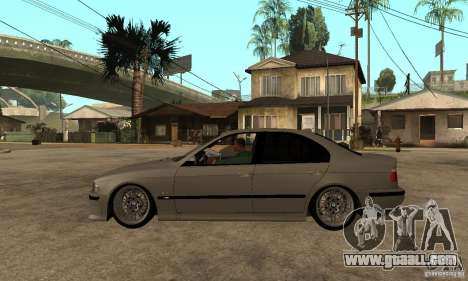 BMW E39 M5 Sedan for GTA San Andreas left view