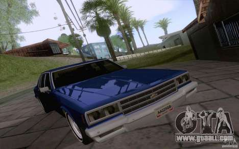 Chevrolet Caprice Clasico for GTA San Andreas