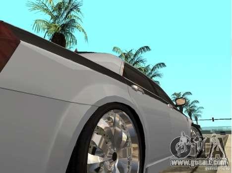 Chrysler 300 C for GTA San Andreas back left view