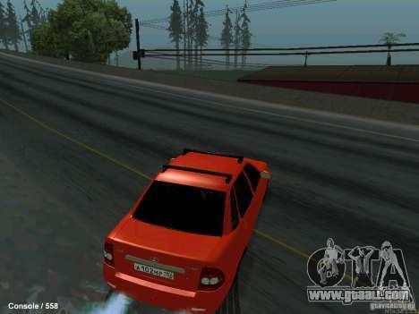 LADA 2170 102-RUS for GTA San Andreas right view