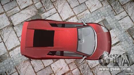 Lamborghini Murcielago v1.0b for GTA 4 right view