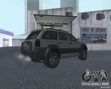 SUV from NFS for GTA San Andreas right view