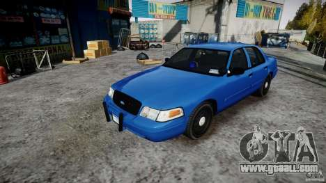 Ford Crown Victoria Detective v4.7 [ELS] for GTA 4