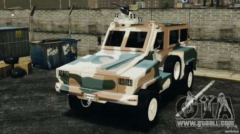RG-31 Nyala SANDF for GTA 4