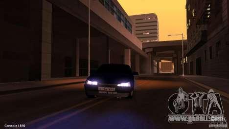 BAZ 21099 for GTA San Andreas upper view