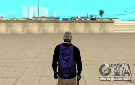 Bronik skin 2 for GTA San Andreas third screenshot