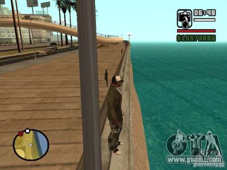The default water for GTA San Andreas