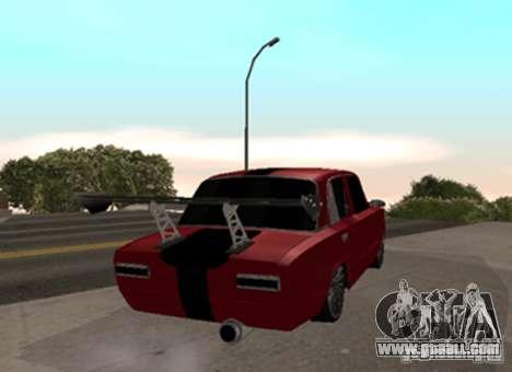 VAZ 2101 Drag for GTA San Andreas back left view