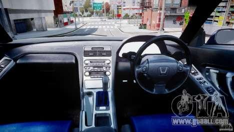 Honda NSX NA2 [Beta] for GTA 4 back view
