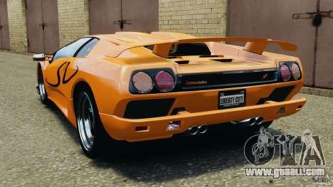 Lamborghini Diablo SV 1997 v4.0 [EPM] for GTA 4 back left view