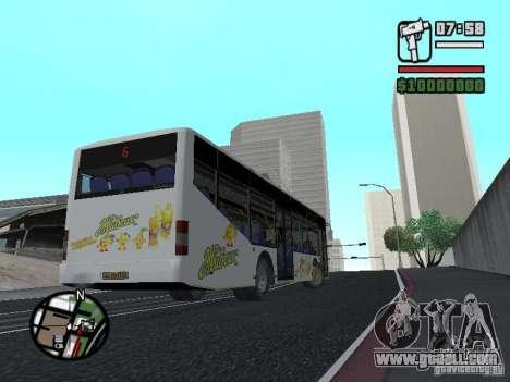 LAZ InterLAZ 12 for GTA San Andreas left view