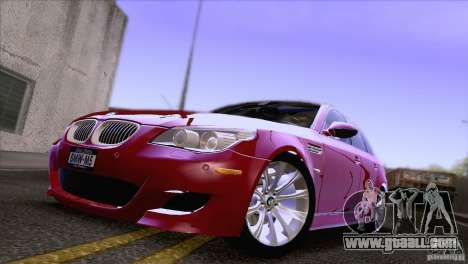 BMW M5 2009 for GTA San Andreas