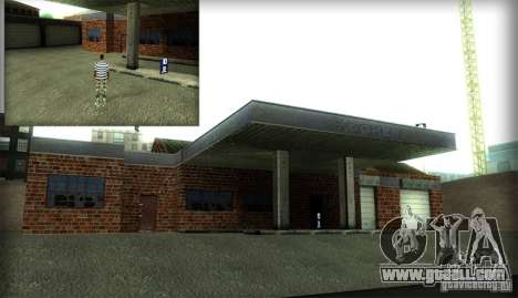 New textures for the garage and the building in  for GTA San Andreas