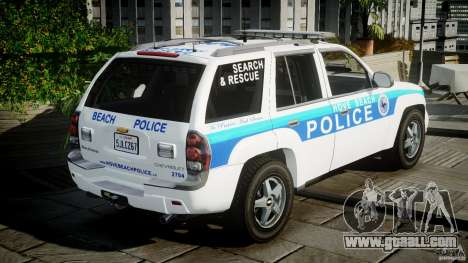 Chevrolet Trailblazer Police V1.5PD [ELS] for GTA 4 side view